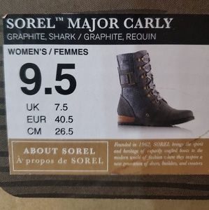 Sorel Shoes - MAJOR CARLY